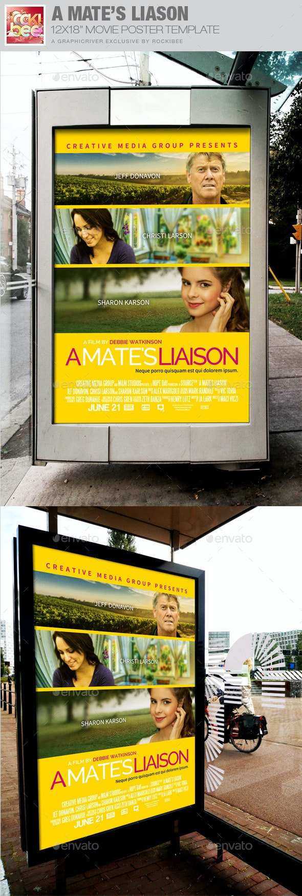 A Mate's Liaison Movie Poster Template - Miscellaneous Events