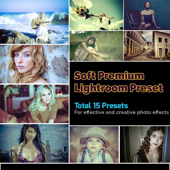 Soft Premium Lightroom Preset