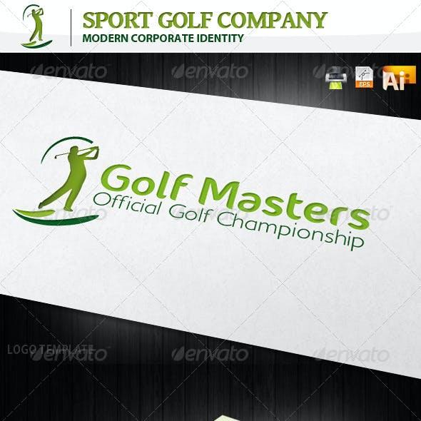 Sport Golf Company Corporate Identity + Logo