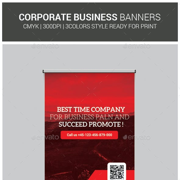 Corporate Business Roll-Up Template