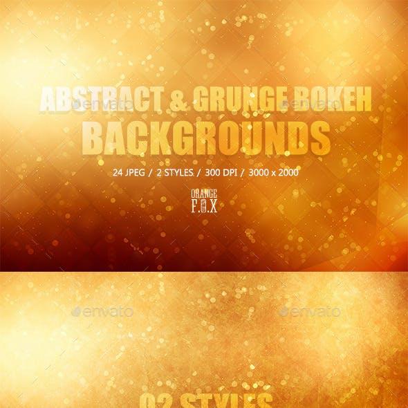 24 Bokeh Backgrounds - 02 Styles