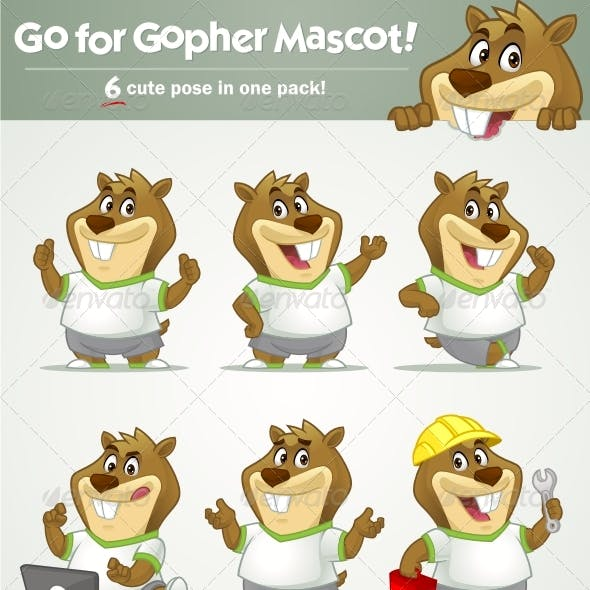 Go for Gopher Mascot!