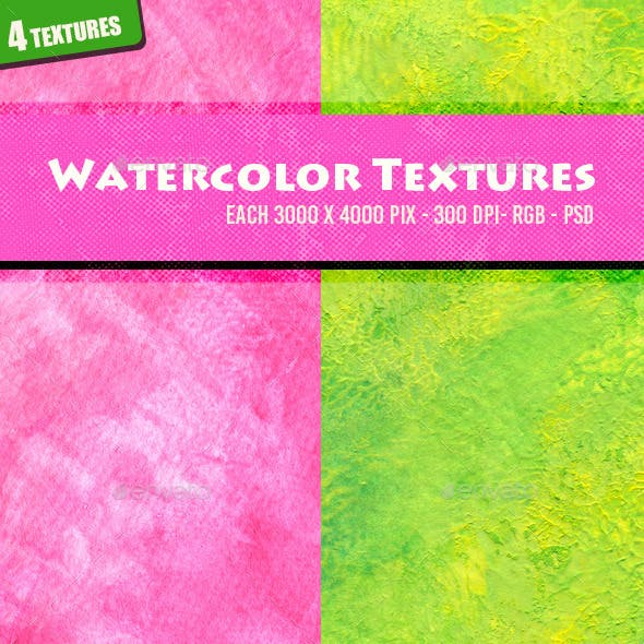 Watercolor Textures 4n2