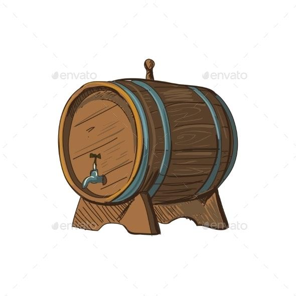 Doodle Barrel - Decorative Symbols Decorative