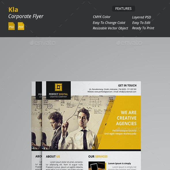 Kla - Corporate Flyer
