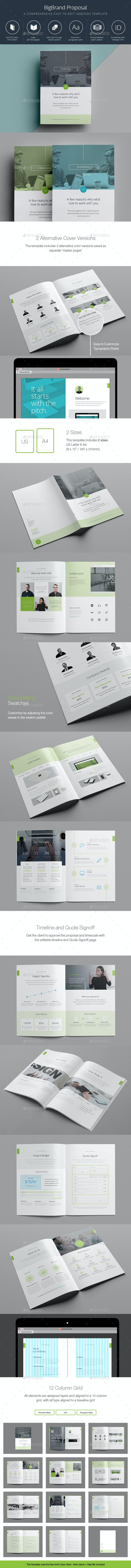 BigBrand Proposal - Proposals & Invoices Stationery