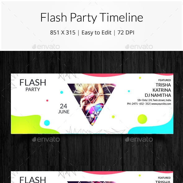 Flash Party Timeline