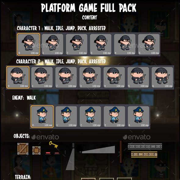 Platform Game Pack
