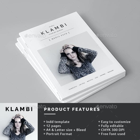 Fashion Magazine Media Pack