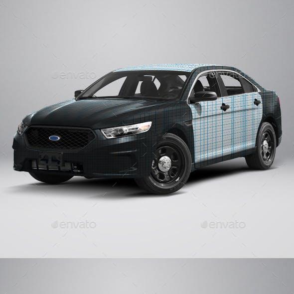 2015 Police Interceptor Sedan Wrap