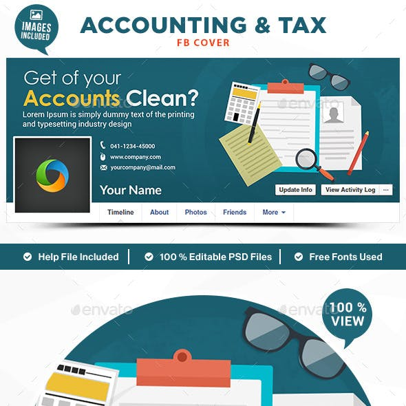 Accounting & Tax Facebook Cover