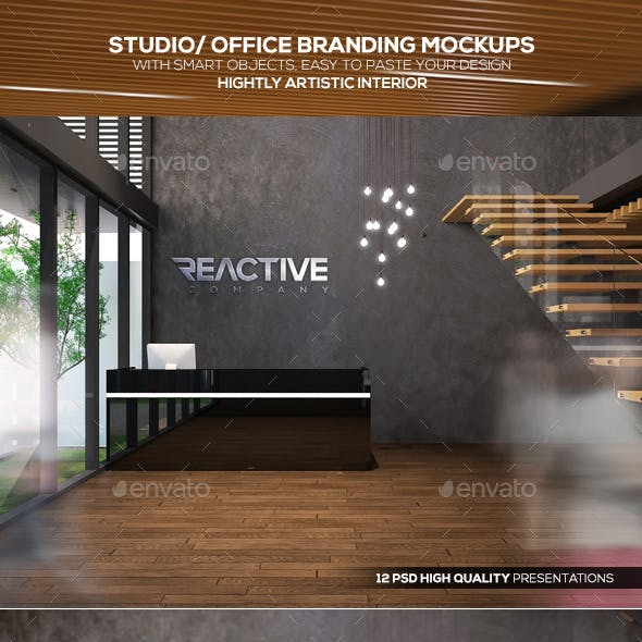 Studio/ Office Branding Mockups