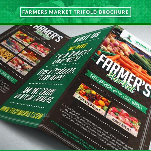 Farmer's Market Commerce Trifold