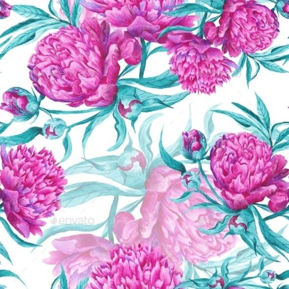 Romantic Watercolor Pattern
