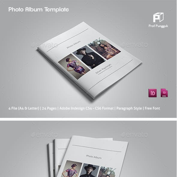 Simple Photo Album Template