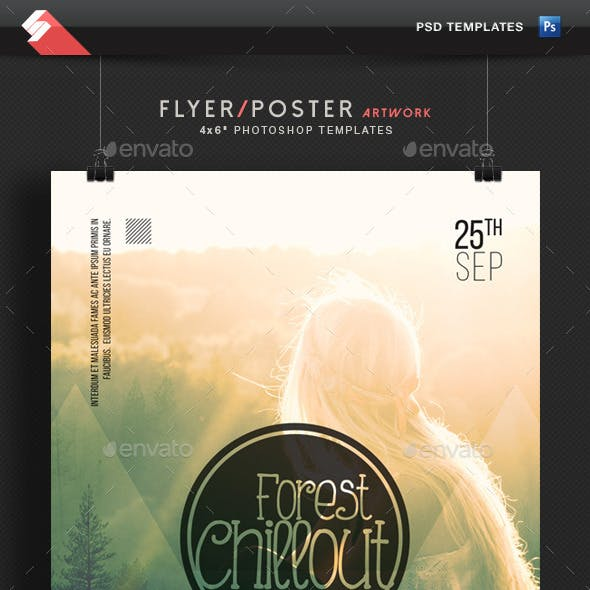 Forest Chillout - Event Flyer Template