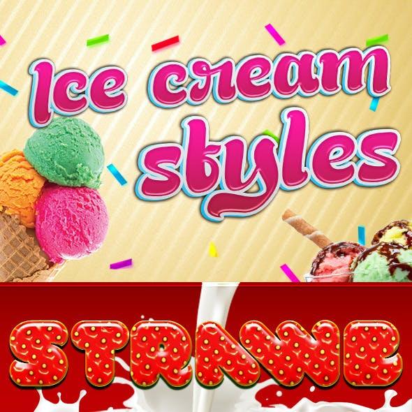 Ice Cream Styles