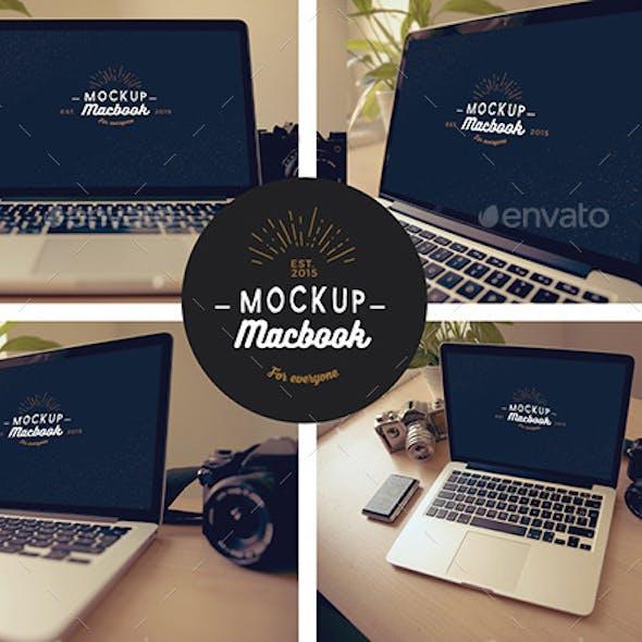 Macbook Mock-Up
