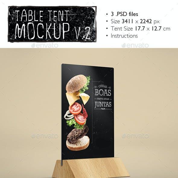 Table Tents Mockup v.2