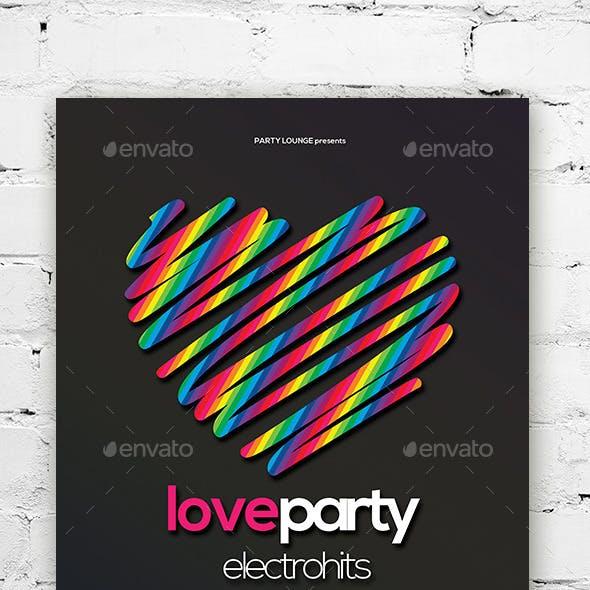 Love Flyer / Poster Vol. 01