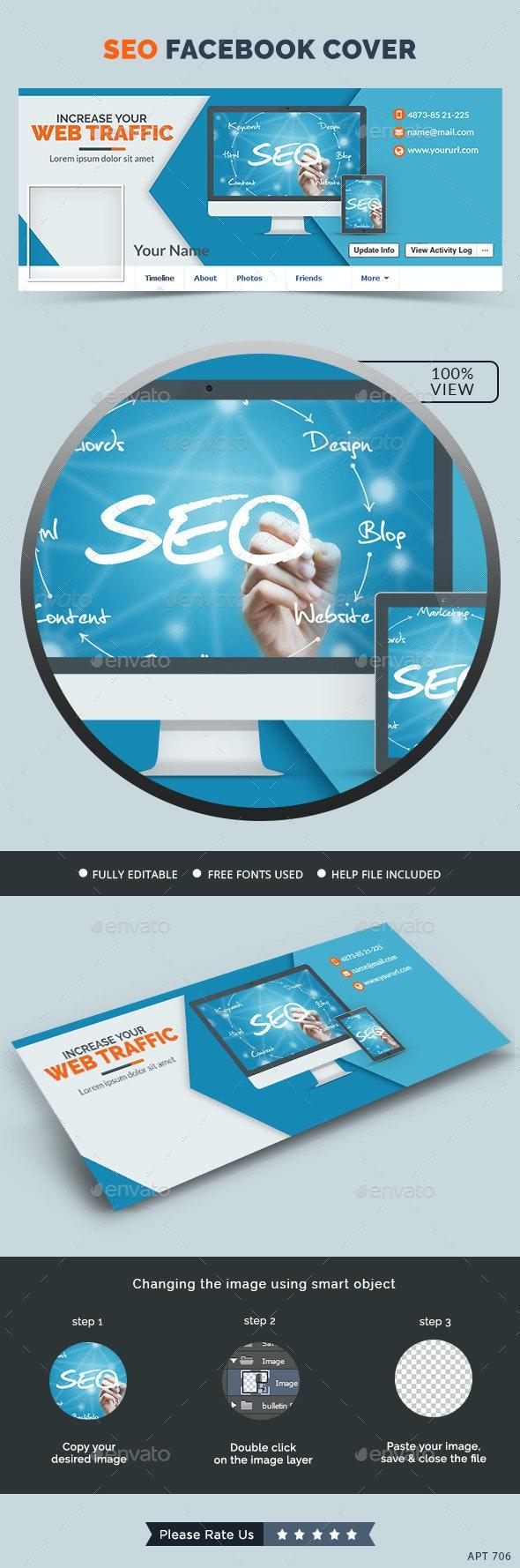 SEO Facebook Cover - Facebook Timeline Covers Social Media