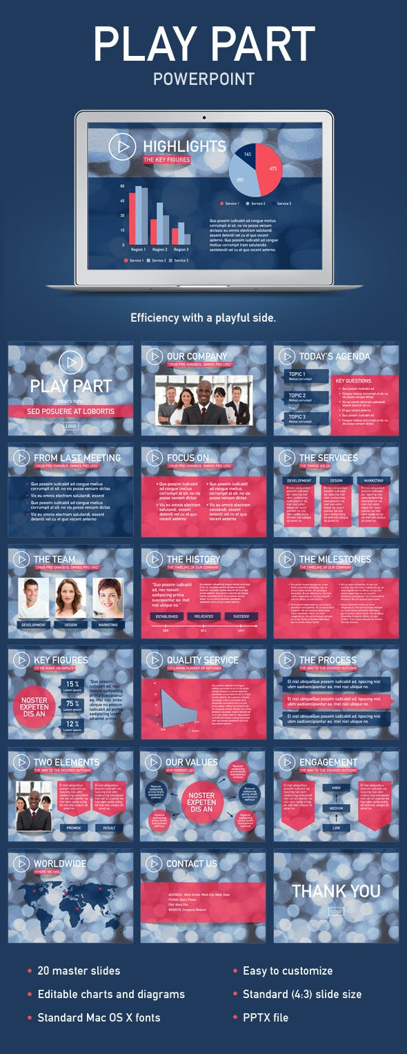 Play Part PowerPoint Template