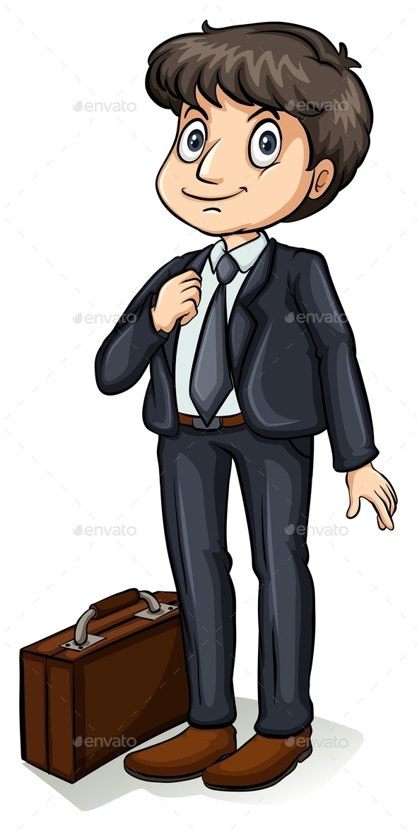 A Formal Man - People Characters