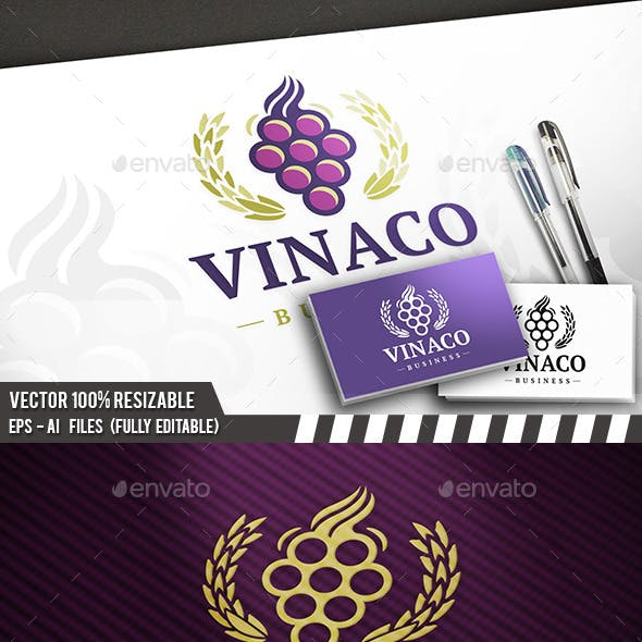 Wine Label Logo