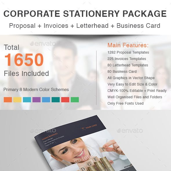 Corporate Stationery Package