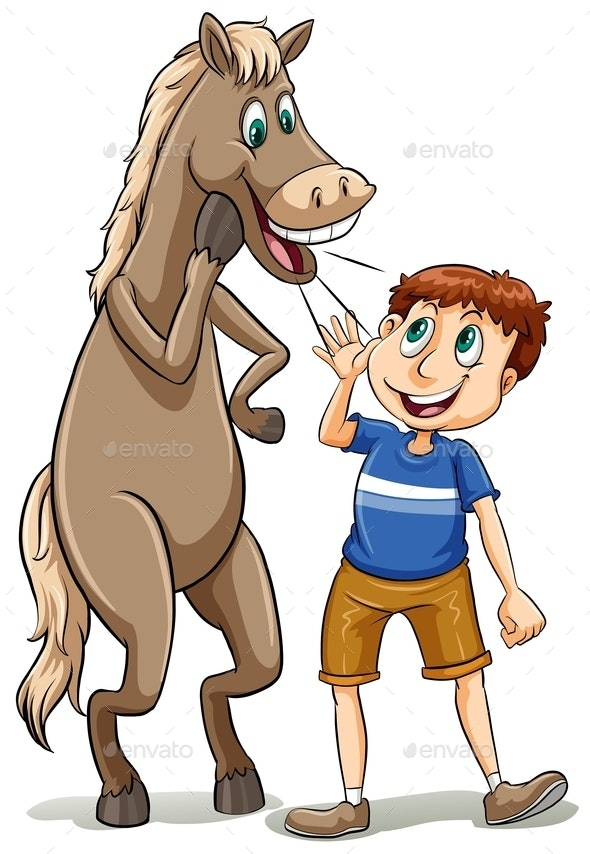 Straight From the Horse Mouth - People Characters