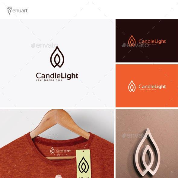 Candle Light Logo