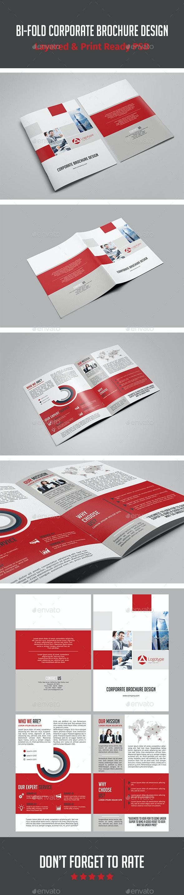 Bi-fold Corporate Brochure Design - Corporate Brochures