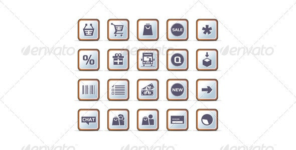 20 Technical Vector Icon Set - Web Icons