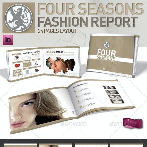 Clean Fashion & Product Magazine // A5 // Brochure