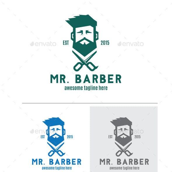 Bearded Barber Logo
