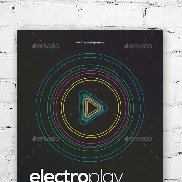 Electro Flyer / Poster Vol. 01