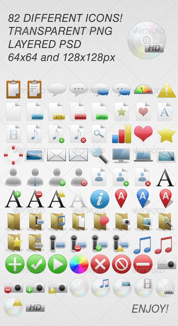 82 Web Icons - Web Icons