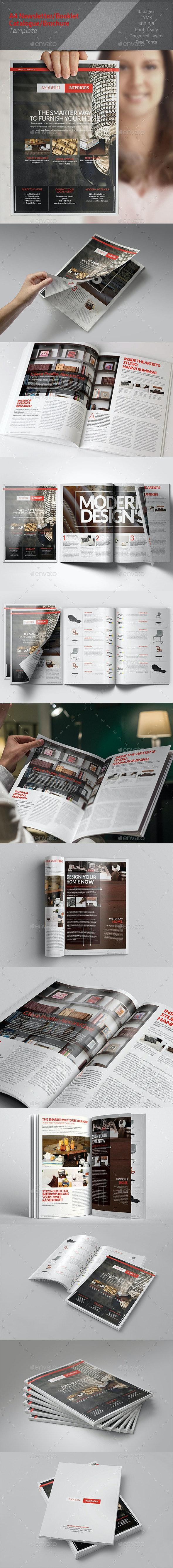 Multipurpose Newsletter / Brochure - Corporate Brochures