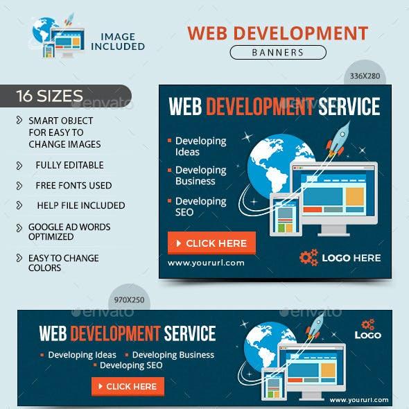 Web Development Banners