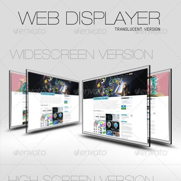 Web Displayer