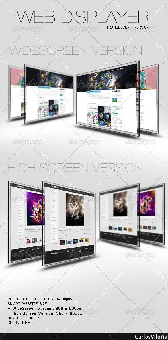 Web Displayer - Website Displays