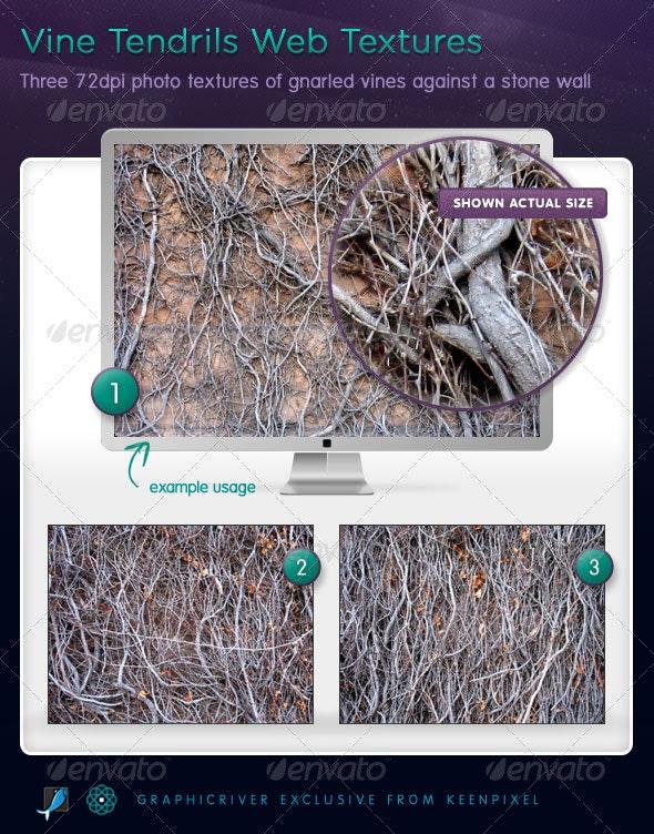 Vine Tendrils Textures - Nature Textures