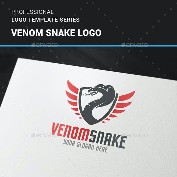 Venom Snake Logo Template