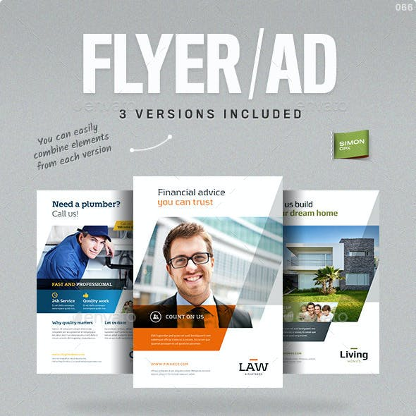 Business Flyer or Ad template