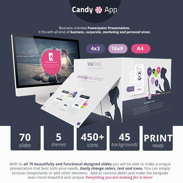 CandyApp Powerpoint Presentation