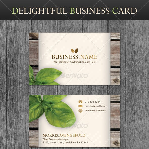 Vintage Business Card Templates & Designs from GraphicRiver