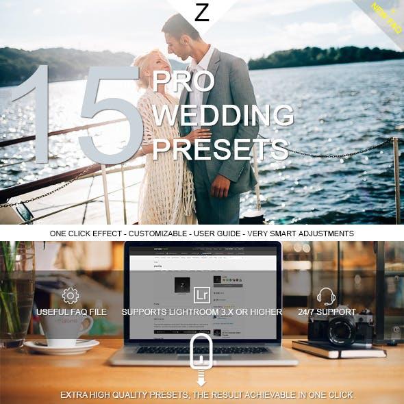 15 Pro Wedding Presets
