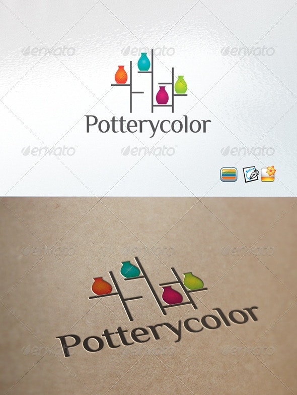 Potterycolor - Objects Logo Templates