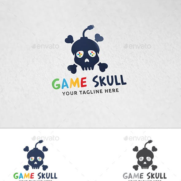 Game Skull - Logo Template