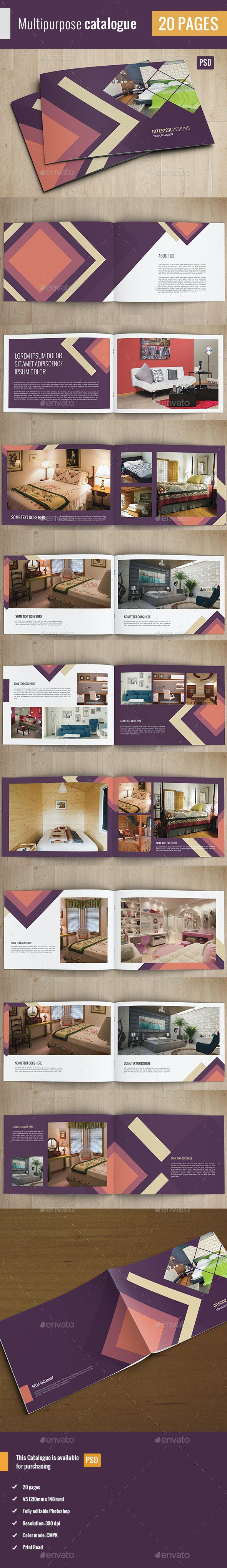 Multipurpose Catalogue/Brochure - Catalogs Brochures